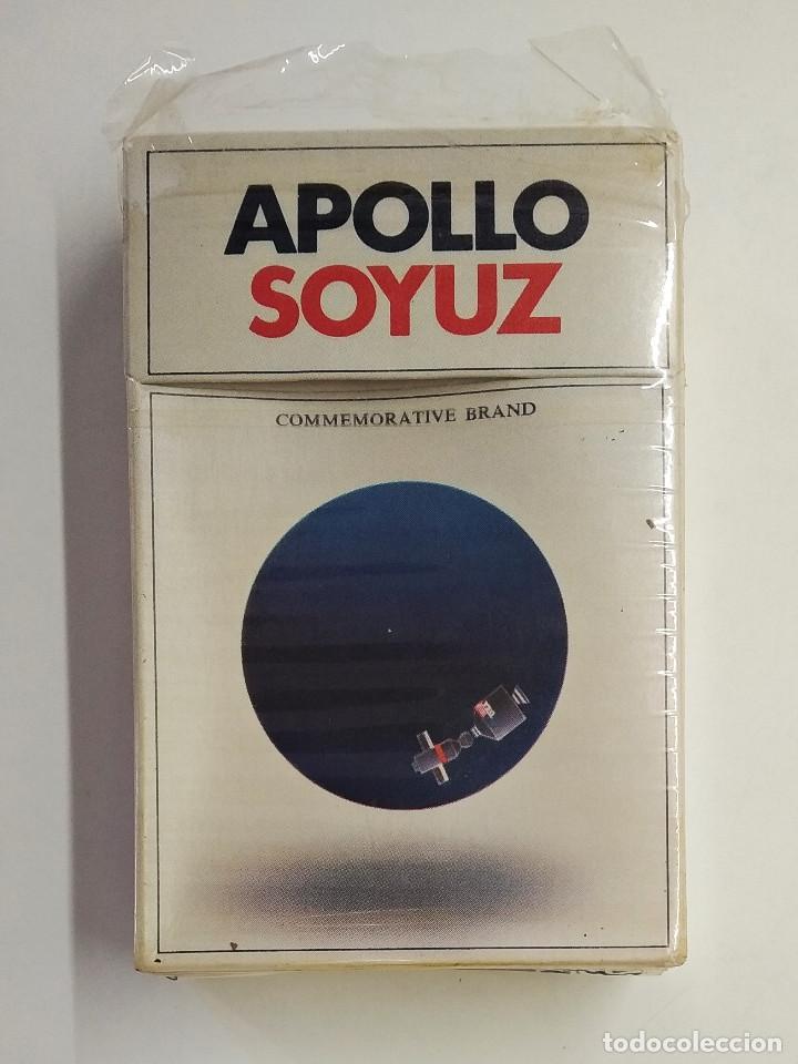 URSS. APOLLO SOYUZ BY PHILIPPE MORRIS AND GLAVTABAK. MADE IN YAVA FACTORY, MOSCOW. (Coleccionismo - Objetos para Fumar - Paquetes de tabaco)