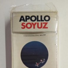 Paquetes de tabaco: URSS. APOLLO SOYUZ BY PHILIPPE MORRIS AND GLAVTABAK. MADE IN YAVA FACTORY, MOSCOW.. Lote 213001268