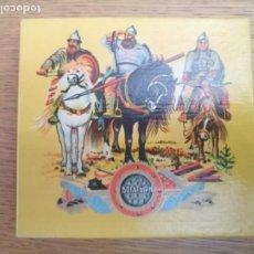 Paquetes de tabaco: ANTIGUA CAJA PUROS TABACO RUSA URRSS COMUNISTA RUSA. Lote 213099655