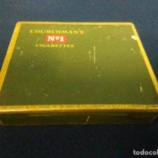 Paquetes de tabaco: CHURCHMAN'S Nº1 CAJA CIGARRILLOS. Lote 214425260