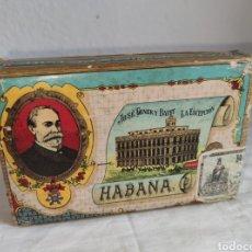 Paquetes de tabaco: PAQUETE DE PICADURA SELECTA DE TABACO, LA ESCEPCIÓN, JOSÉ GENER Y BATET. HABANA, CON PRECINTO DE TAB. Lote 214746363