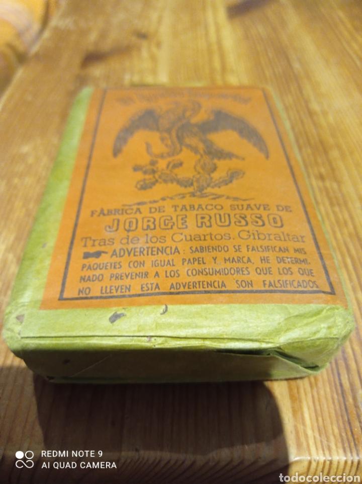PAQUETE DE TABACO DE PICADURA EL AGUILA IMPERIAL JORGE RUSSO (Coleccionismo - Objetos para Fumar - Paquetes de tabaco)