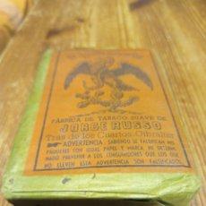 Paquetes de tabaco: PAQUETE DE TABACO DE PICADURA EL AGUILA IMPERIAL JORGE RUSSO. Lote 217396503