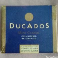 Paquetes de tabaco: ANTIGUA CAJA DE CIGARRILLOS DE DUCADOS MINI CLASSIC. Lote 217951846