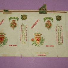 Paquetes de tabaco: ANTIGUO PAQUETE DE CIGARRILLOS TABACO * DELICADOS CON FILTRO * DE LA TABACALERA MEXICANA. Lote 218034055