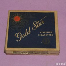 Paquetes de tabaco: ANTIGUO PAQUETE DE CIGARRILLOS TABACO * GOLD STAR * DE JORDANIA. Lote 218564406