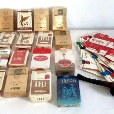 Paquetes de tabaco: LOTE PAQUETES TABACO KAISER REX HU SEITANES NAZIONALI PARTAGAS ETC PIPA. Lote 218603817