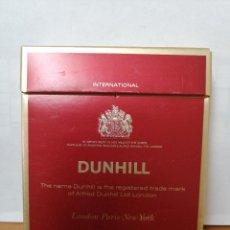 Maços de tabaco: PAQUETE DE TABACO ANTIGUO Y LLENO ( DUNHILL ) DURO, CAJA CUADRADA. Lote 218809310