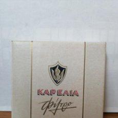 Maços de tabaco: PAQUETE DE TABACO ANTIGUO Y LLENO ( KAPEAIA ) DURO, CAJA CUADRADA. Lote 218809913