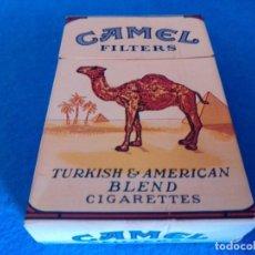 Paquetes de tabaco: CAJETILLA DE CIGARRILLOS DE TABACO CAMEL - PAQUETE VACIO - AÑOS 80. Lote 218833897