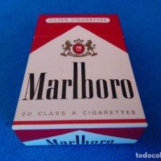 Paquetes de tabaco: CAJETILLA DE CIGARRILLOS DE TABACO MARLBORO - PAQUETE VACIO - AÑOS 80. Lote 218834005