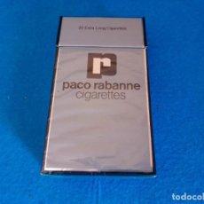 Paquetes de tabaco: CAJETILLA DE CIGARRILLOS DE TABACO PACO RABANNE- PAQUETE VACIO - AÑOS 80. Lote 218838105