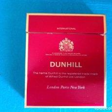 Paquetes de tabaco: CAJETILLA DE CIGARRILLOS DE TABACO DUNHILL INTERNATIONAL- PAQUETE VACIO - AÑOS 80. Lote 218839595