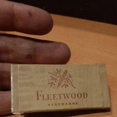 Paquetes de tabaco: PAQUETE DE TABACO NUEVA A ESTRENAR FLEETWOOD STANDARDS SEGUNDA GUERRA MUNDIAL. Lote 219228235