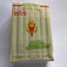 Paquetes de tabaco: 46 . PAQUETE DE TABACO MUY ANTIGUO EN PERFECTO ESTADO DE CONSERVACION. Lote 221545522