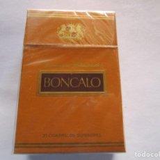 Paquetes de tabaco: BONCALO . PAQUETE DE TABACO MUY ANTIGUO EN PERFECTO ESTADO DE CONSERVACION. Lote 221546012