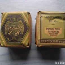 Paquetes de tabaco: ANTIGUO PAQUETE TABACO PICADO 50 GRAMOS. Lote 221582702
