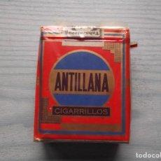 Paquetes de tabaco: ANTIGUO PAQUETE TABACO ANTILLANA. Lote 221582933
