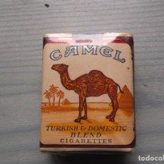 Paquetes de tabaco: ANTIGUO PAQUETE TABACO CAMEL. Lote 221584287