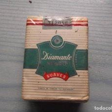 Paquetes de tabaco: ANTIGUO PAQUETE TABACO DIAMENTE. Lote 221584547