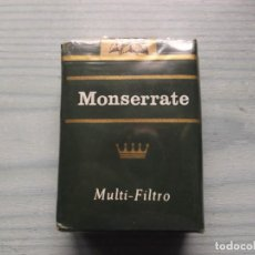 Paquetes de tabaco: ANTIGUO PAQUETE TABACO MONSERRATE. Lote 221585420