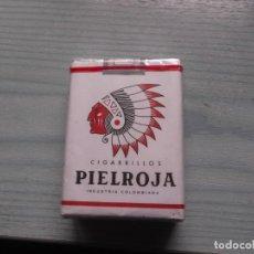 Paquetes de tabaco: ANTIGUO PAQUETE TABACO PIEL ROJA. Lote 221585580