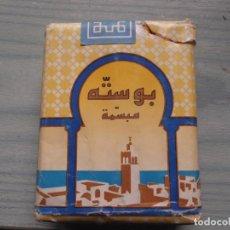Paquetes de tabaco: ANTIGUO PAQUETE TABACO ARABE. Lote 221586018
