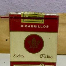 Paquetes de tabaco: PAQUETE ANTIGUO TABACO FLOR DE ORO. Lote 222074972