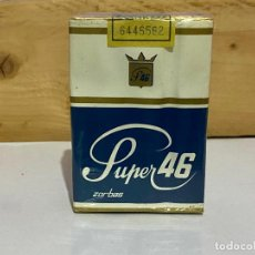 Paquetes de tabaco: ANTIGUO PAQUETE TABACO SUPER 46. Lote 222166172