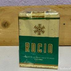Paquetes de tabaco: ANTIGUO PAQUETE TABACO ROCIO. Lote 222166263