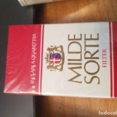 Maços de tabaco: COLECCION PARTICULAR, PAQUETE DE TABACO LLENO CON PRECINTO ORIGINAL. Lote 222198565