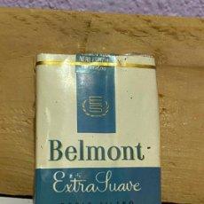 Paquets de cigarettes: PAQUETE DE TABACO BELMONT, EXTRA SUAVE, VENEZUELA. Lote 222362170