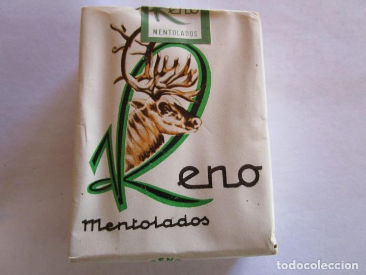 RENO . PAQUETE DE TABACO MUY ANTIGUO EN PERFECTO ESTADO DE CONSERVACION (Coleccionismo - Objetos para Fumar - Paquetes de tabaco)