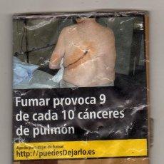 Paquetes de tabaco: PAQUETE VACÍO DE TABACO PARA LIAR RAW CLASSIC (30 GRAMOS). Lote 222710962