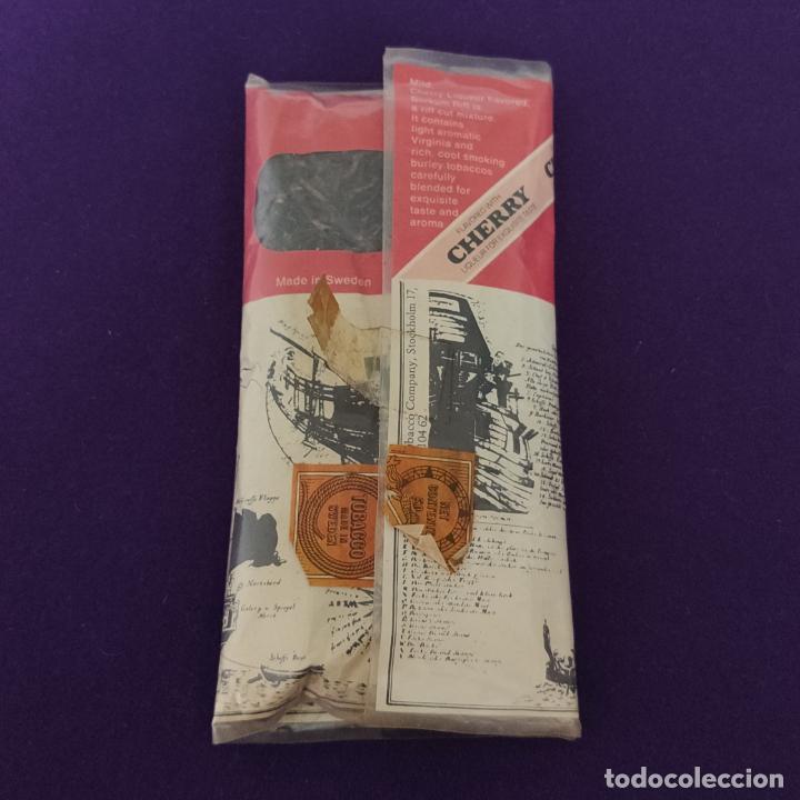 Paquetes de tabaco: ANTIGUO PAQUETE DE TABACO PARA PIPA. BORKUM RIFF. MADE IN SWEDEN. - Foto 2 - 224625926