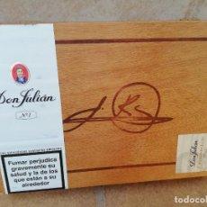 Maços de tabaco: CAJA DE PUROS DON JULIAN NUMERO 1. Lote 226141081
