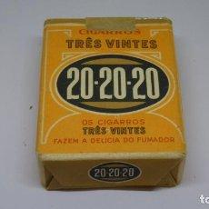 Paquetes de tabaco: ANTIGUO PAQUETE DE TABACO 20 20 20 TRES VINTES. Lote 226441585