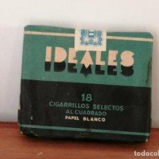Paquetes de tabaco: ANTIGUA CAJETILLA DE CIGARRILLOS IDEALES. SIN ABRIR. W. Lote 226441780