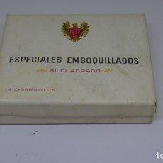 Paquetes de tabaco: ANTIGUO PAQUETE DE TABACO ESPECIALES EMBOQUILLADOS . SOLO CON 3 CIGARRILLOS.. Lote 226454380
