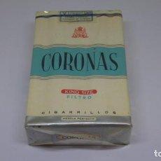 Paquetes de tabaco: ANTIGUO PAQUETE DE TABACO CORONAS . CON PRECINTO. Lote 226454710
