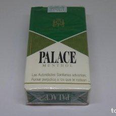 Paquetes de tabaco: ANTIGUO PAQUETE DE TABACO PALACE MENTHOL . CON PRECINTO TAL CUAL SE VE EN LA FOTO .. Lote 226457480