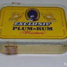Paquetes de tabaco: ANTIGUO PAQUETE DE TABACO XCLUSIV PLUM AND RUM . MIXTURE .. Lote 226460705