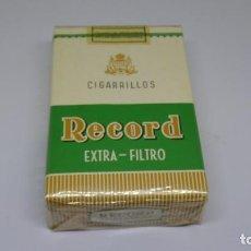 Paquetes de tabaco: ANTIGUO PAQUETE DE TABACO RECORD . CON PRECINTO. Lote 226464225