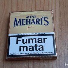Paquetes de tabaco: PAQUETE DE TABACO --MINI MEHARI´S -- CAJITA -- CAJETILLA -- CARTÓN -- VACÍA. Lote 226477225