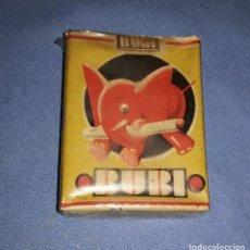Paquetes de tabaco: ANTIGUO PAQUETE DE TABACO BUBI ELEFANTE TIPO AMERICANO ORIGINAL AÑOS 30. Lote 228851720