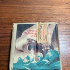 Paquets de cigarettes: ANTIGUO PAQUETE DE TABACO CIGARRILLOS EXTRAS LABORES CANARIAS PRECINTADO LLENO. Lote 230557485