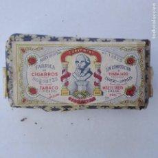 Paquetes de tabaco: PAQUETE DE TABACO PICADO CERVANTES GIBRALTAR SEGÚN LA FOTOS. Lote 231973565