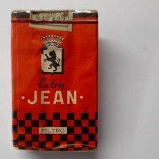 Paquetes de tabaco: ANTIGUO PAQUETE DE TABACO . CIGARRILLOS JEAN EXTRA - SIN ABRIR. Lote 232572167