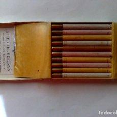 Paquetes de tabaco: PAQUETE (DURO) DE 20 CIGARILLOS XANTIA-MIREILLE,ALEXANDRIE-CAIRE-GENEVE,SIN USAR (DESCRIPCIÓN). Lote 232807365