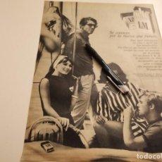 Paquets de cigarettes: TABACO LM L & M REVERSO BAÑADORES MEYBA ANUNCIO PUBLICIDAD REVISTA 1969. Lote 232885645